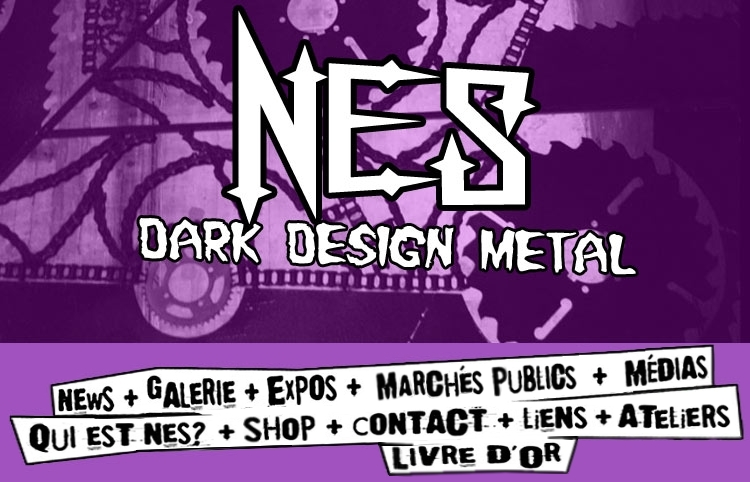 Interventions-Dark Nes Design-Sculpteur métal Bordeaux